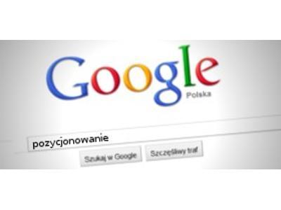 Google - kliknij, aby powiększyć