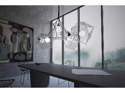 Modeling i wizualizacja lampy, 3ds max, V-ray - kliknij, aby powiększyć