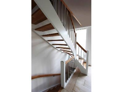 schody na beton, schody z drewna,nowoczesne schody,schody ze szklem., Sscody dęboweiwice (pomorskie)
