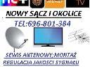 Montaż i ustawianie anten TV SAT i DVB - T, Nowy Sącz (małopolskie)