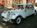 Biały zabytkowy Citroen Traction Avant idealne auto do ślubu, Katowice (śląskie)
