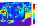 Obraz termowizyjny kotła