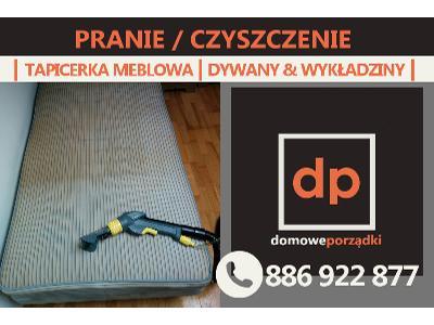 Pranie tapicerki meblowej, samochodowej, dywanów, wykładzin KRAKÓW