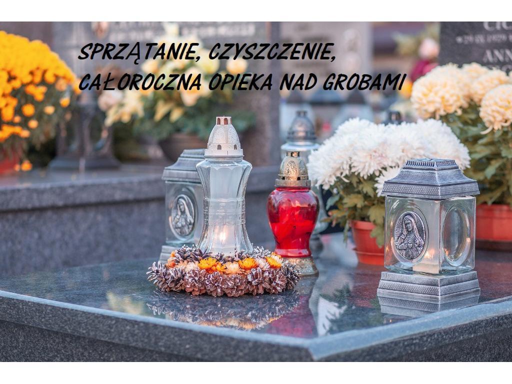 Sprzątanie, czyszczenie, całoroczna opieka nad grobami Lębork, okolice, pomorskie