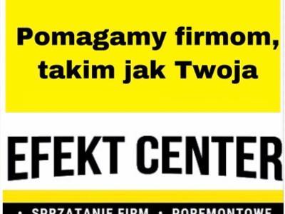 Solidnie i na czas. Firma sprzątająca z Lublina Efekt Center - kliknij, aby powiększyć