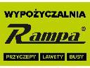 Rampa - wypożyczalnia i sprzedaż przyczep, lawet, busów i części, Warszawa, mazowieckie