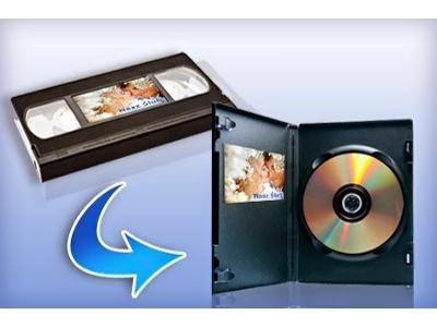 Przegrywanie kaset VHS na DVD - kliknij, aby powiększyć