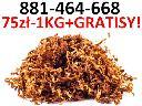 Tani tytoń za 75 zł/1 kg, jakość jak w sklepie! Tyton papierosowy,  (cała Polska)