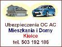 Ubezpieczenia Kielce OC AC NNW - Mieszkania i Firmy, Kielce (świętokrzyskie)