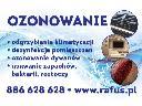 Ozonowanie, odgrzybianie samochodu Kraków, Skawina, Krzeszowice