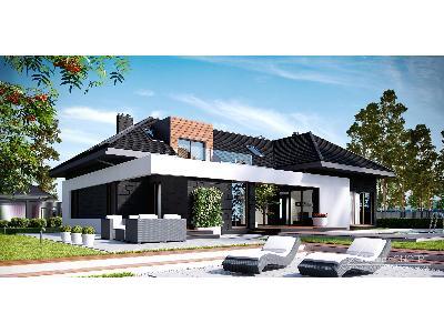 Projekt domu HomeKoncept 13 - kliknij, aby powiększyć