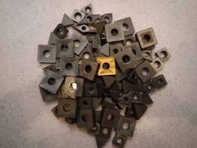 Złom węglika spiekanego - płytka wieloostrzowa - kliknij, aby powiększyć