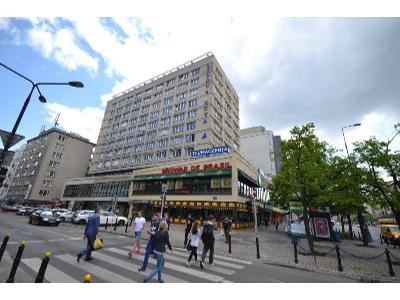 Budynek róg Wspólnej i Marszałkowskiej z salami na wynajem - kliknij, aby powiększyć