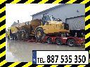 Transport urządzeń maszyn Koparka Ładowarka Spych Forwarder Harwester , Kraków,  Wieliczka,  Bielsko-Biała,  Tarnów,   (małopolskie)