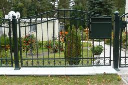 Kute bramy i ogrodzenia - produkcja  montaż, Poznań, wielkopolskie