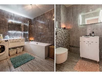 Wykończona łazienka - kliknij, aby powiększyć