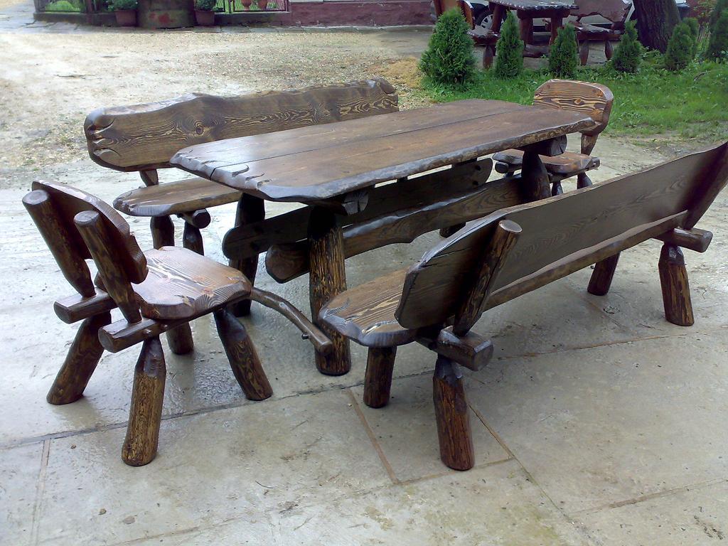 Studnie Drewniane Dekoracyjne Hustawki Biesiadne Meble