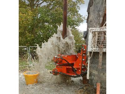 Wiercenie studni głębinowej hydroartem - kliknij, aby powiększyć