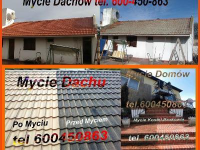 Impregnacja dachu, Malowanie Elewacji, Mycie, Łowicz, Błonie - kliknij, aby powiększyć
