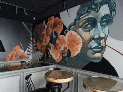 Malowanie artystyczne ścian / graffiti / street art / mural painting