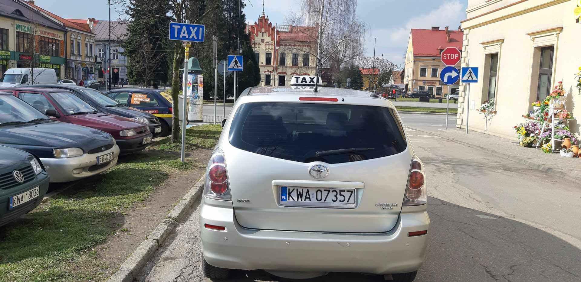Taxi Zator Postój