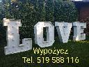 Napis LOVE słowo LOVE BALONY Z HELEM WYPUSZCZANIE BALONÓW NA WESELU, kutno (łódzkie)