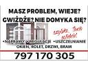 Pogotowie okienne, serwis okien , regulacja okien, naprawa rolet,drzwi, Poznań,  Września,  Gniezno,  Koło,  Słupca,  Konin (wielkopolskie)
