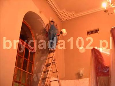 Malowanie restauracji w Hotelu Royal - kliknij, aby powiększyć