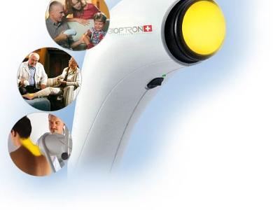Zabiegi lecznicze Lampami Bioptron - kliknij, aby powiększyć