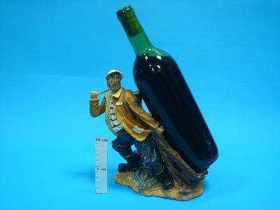 """TG02905 - stojak na butelkę """"marynarz"""" - kliknij, aby powiększyć"""
