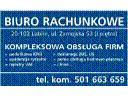 P.P.H.U. Biuro Rachunkowe-Komleksowa obsługa firm, Lublin, lubelskie