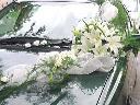 Dekoracje aut ślubnych z kwiatów żywych od 100, Gliwice, śląskie