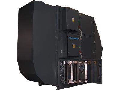 Elektrofiltr PEFO wydajność 4500 m3/h -filtr mgły olejowej - kliknij, aby powiększyć
