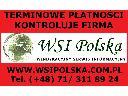 Monitoring płatności w WSI Polska, Wrocław, dolnośląskie