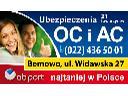 Ubezpieczenia Komunikacyjne - najtaniej w Polsce, Warszawa, mazowieckie