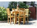sprzedam 4 stoły i 12  krzeseł z sosny, Łódz Ruda Pabianicka, łódzkie