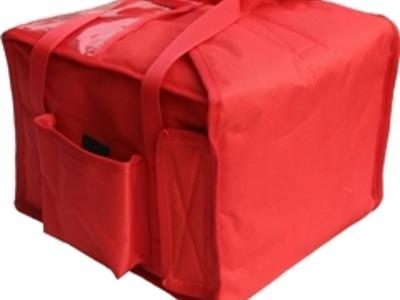 Torba elegancka do przewożenia, przenoszenia pizzy na 7 pudełek - kliknij, aby powiększyć