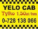 Yelo Cab Taxi z nami tylko 1.50 zł/km, Warszawa, mazowieckie