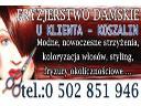 FRYZJERSTWO DAMSKIE U KLIENTA - KOSZALIN, Koszalin, zachodniopomorskie