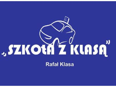 """LOGO OSK ,,Szkoła z Klasą"""" Rafał Klasa - kliknij, aby powiększyć"""