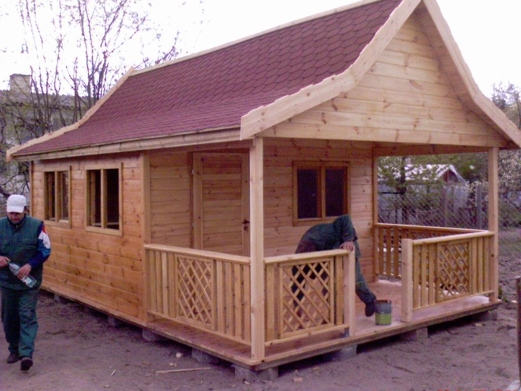 Drewniane domy letniskowe, altany, meble ogrodowe, Drawsko Pomorskie, zachodniopomorskie ...