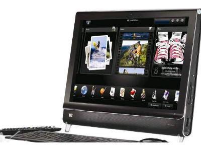 komputer przyszłości HP - Dotykowy - kliknij, aby powiększyć