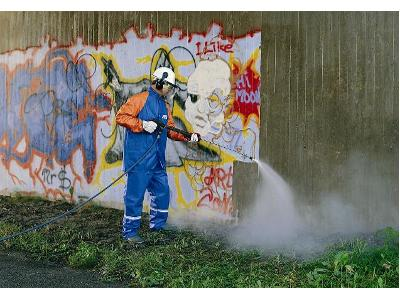 Skutecznie usuwamy graffiti - kliknij, aby powiększyć