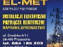 Usługi elektryczne, Warszawa, mazowieckie