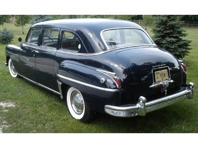DODGE Coronet Limousine (1949) - kliknij, aby powiększyć