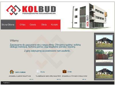 Projekt graficzny dla firmy budowlanej - kliknij, aby powiększyć