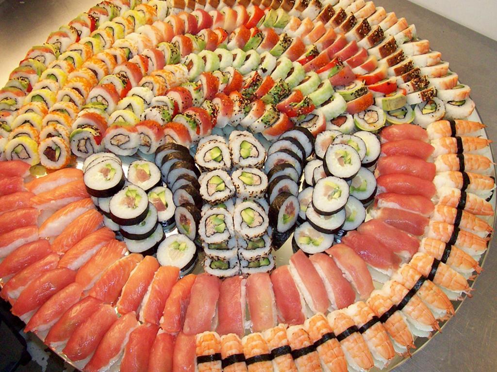 Oryginał Sushi catering , Sushi na wesele, przyjęcie..., Wrocław, okolice QY09