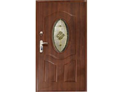 W Mega Drzwi, drzwi zewnętrzne, drzwi z witrażem, Łódź, łódzkie - Favore.pl KI44