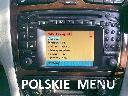 POLSKIE MENU COMAND MAPA MERCEDES W203 W220 W210, Warszawa, mazowieckie