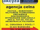Agencja Celna Akcyza Zone, Warszawa, mazowieckie